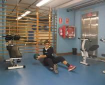 Trabajo en el gimnasio